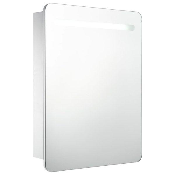 LED-Bad-Spiegelschrank 60 x 11 x 80 cm