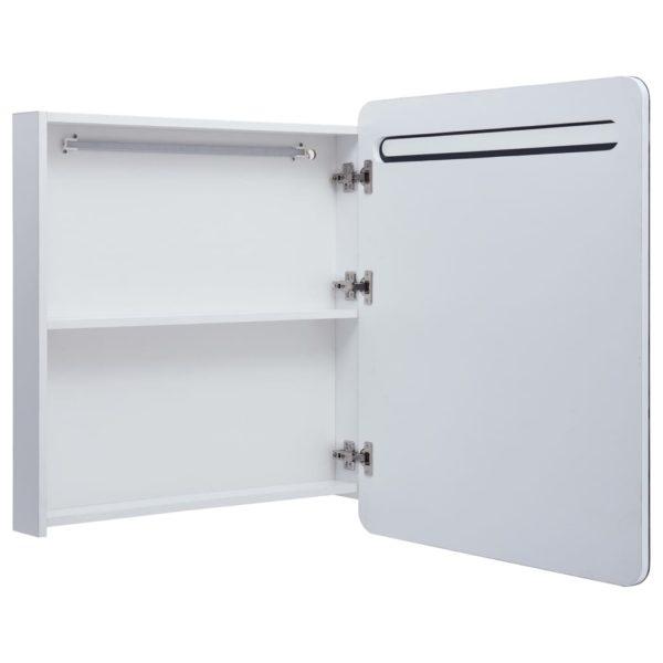 LED-Bad-Spiegelschrank 68 x 11 x 80 cm