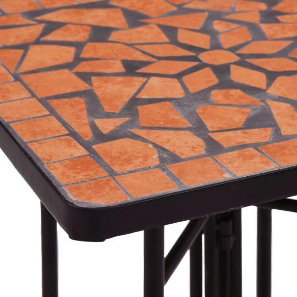 Mosaik-Beistelltisch Terrakotta Keramik