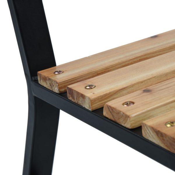 Gartenbank 120 cm Holz