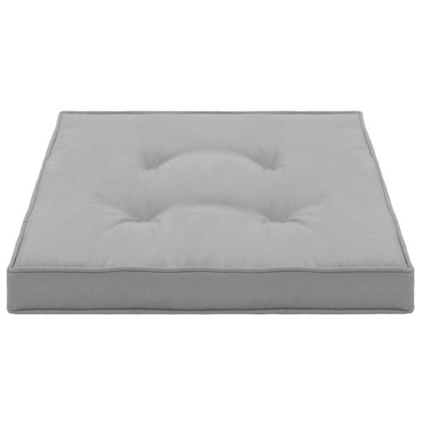 Gartenstuhl-Kissen 4 Stk. Grau 40 x 40 x 5 cm