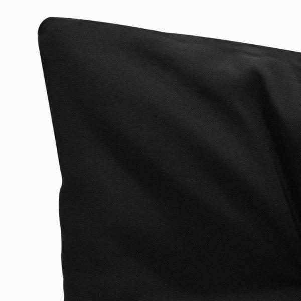 Auflage für Hollywoodschaukel Schwarz 100 cm Stoff