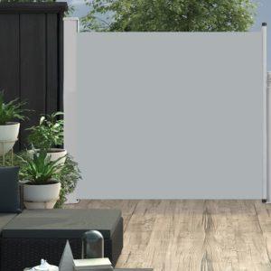 Ausziehbare Seitenmarkise 170×300 cm Grau