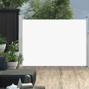 Ausziehbare Seitenmarkise 120×500 cm Creme