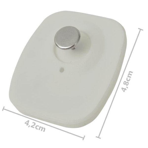 RF-Hartetiketten mit Nadeln 2000 Stk. 8,2 MHz Weiß
