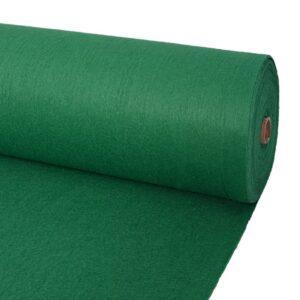 Messeteppich Glatt 1,6×12 m Grün
