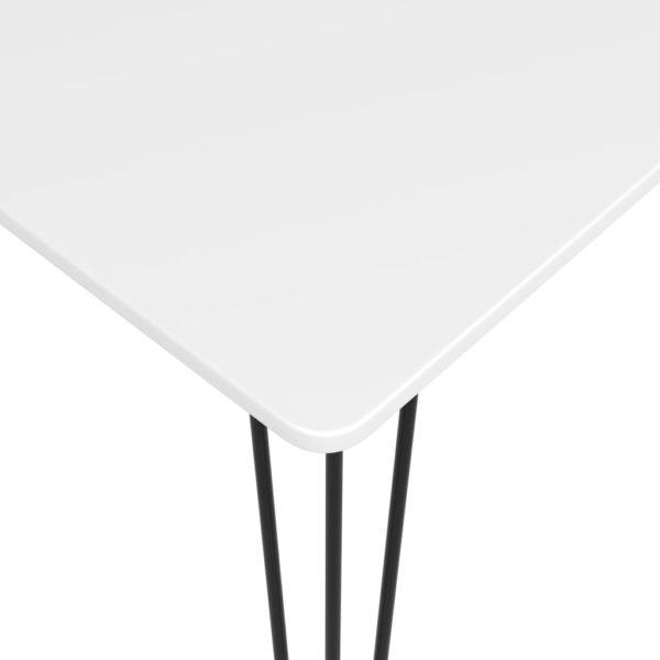 Bartisch Weiß 120x60x96 cm