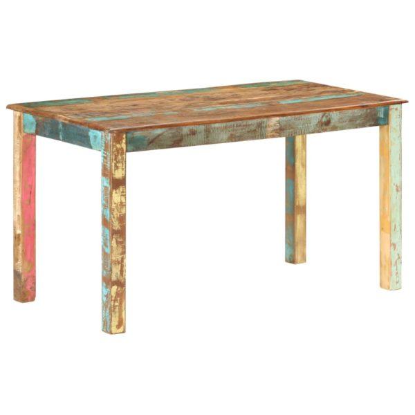 Esstisch Recyceltes Massivholz 140×70×76 cm