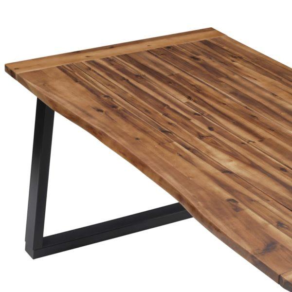 Esstisch Massivholz Akazie 180 x 90 cm