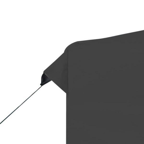 Profi-Partyzelt Faltbar Aluminium 2×2 m Anthrazit
