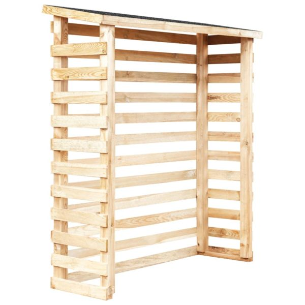 Garten-Holzunterstand 160 x 50 x 170 cm Kiefernholz
