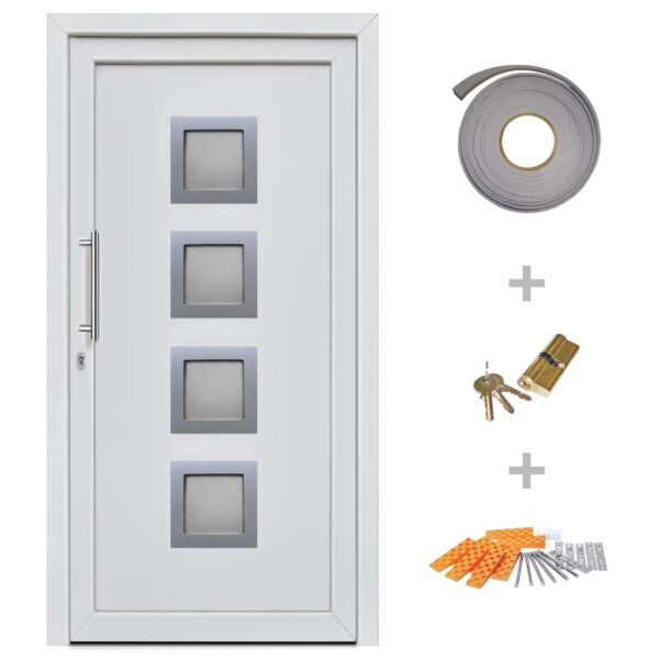 Haustür Weiß 98×190 cm