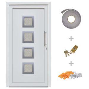 Haustür Weiß 108×200 cm
