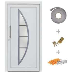 Haustür Weiß 88×200 cm