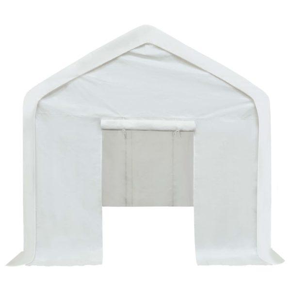 Lagerzelt PE 3 x 6 m Weiß