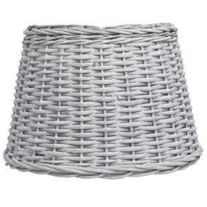 Lampenschirm Korbweide 45 x 28 cm Braun