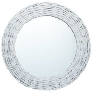 Spiegel Weiß 40 cm Weide