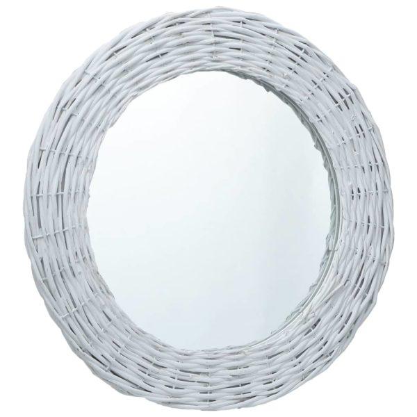 Spiegel Weiß 70 cm Weide