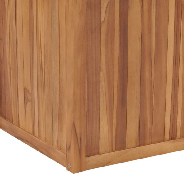 Hochbeet 100×50×50 cm Massivholz Teak