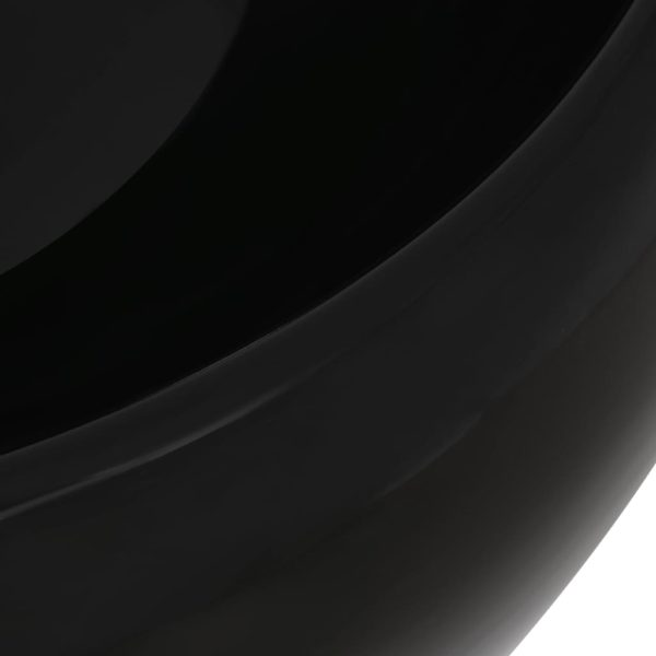 2-tlg. Badmöbel-Set Keramik Weiß