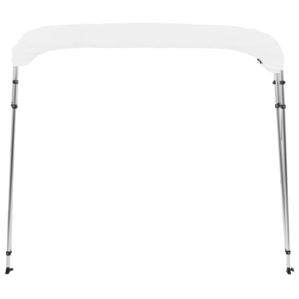 4-Bow Bimini Top Weiß 243x180x117 cm