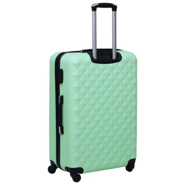 Hartschalen-Trolley-Set 3 Stk. Minzgrün ABS
