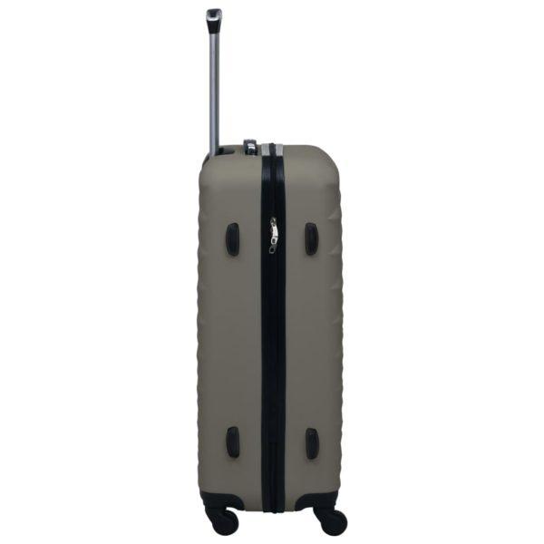 Hartschalen-Trolley-Set 3 Stk. Anthrazit ABS