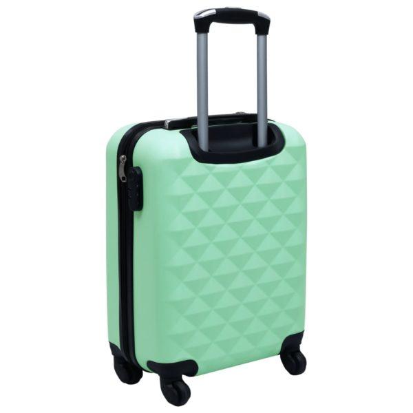 Hartschalen-Trolley-Set 2 Stk. Minzgrün ABS