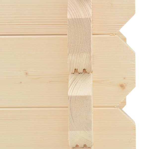 Hochbeet 42 mm 100 x 50 x 87,8 cm Massivholz Fichte