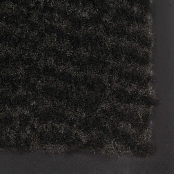 Schmutzfangmatten 2 Stk. Rechteckig Getuftet 90x150cm Schwarz