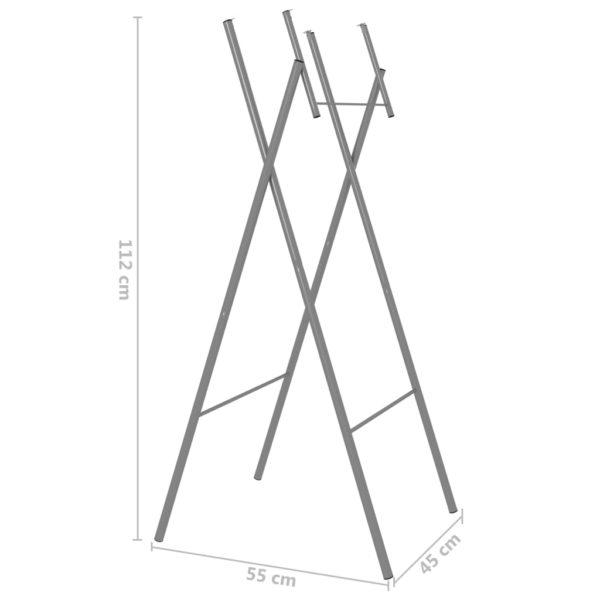 Klapptisch-Beine 6 Stk. Silbern 45×55×112 cm Verzinkter Stahl