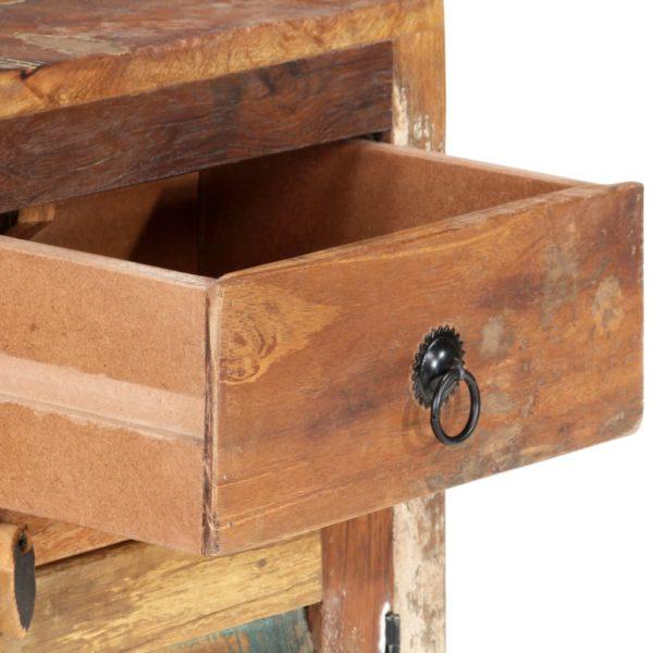 Sideboard 70 x 30 x 68 cm Recyceltes Massivholz