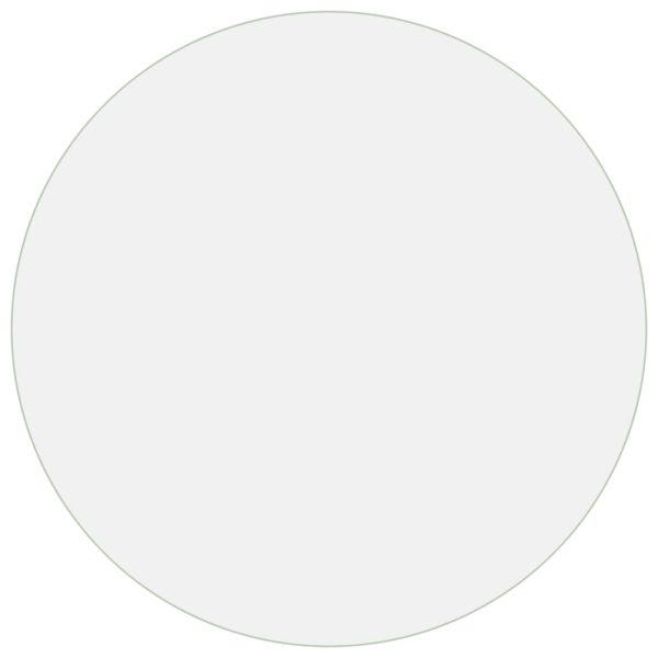 Tischfolie Transparent Ø 60 cm 2 mm PVC