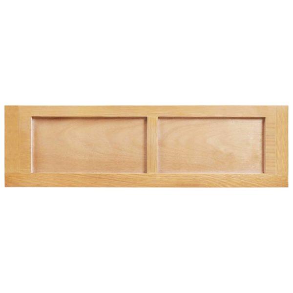 Bücherregal 6 Fächer 80x30x170 cm Massivholz Eiche