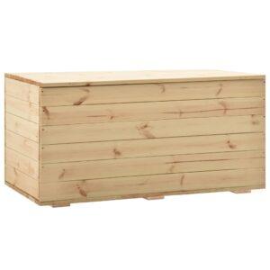 Aufbewahrungstruhe 120 x 63 x 50,7 cm Massivholz Kiefer