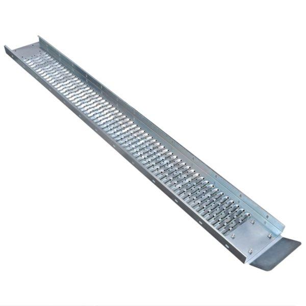 Auffahrrampen aus Stahl 2 Stk. 450 kg