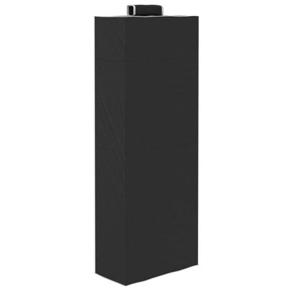 Hängeaufbewahrung für Schränke 2 Stk. mit 6 Fächern Stoff