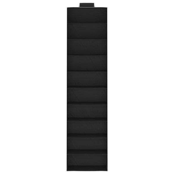 Hängeaufbewahrung für Schränke 2 Stk. mit 10 Fächern Stoff