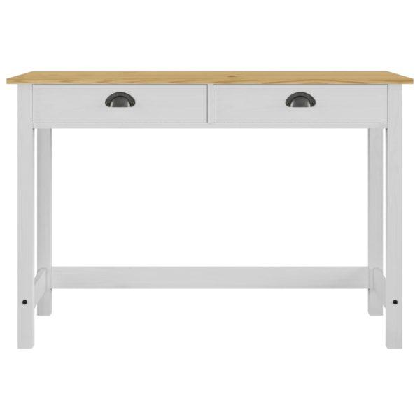 Konsolentisch mit 2 Schubladen 110×45×74 cm Massivholz Kiefer