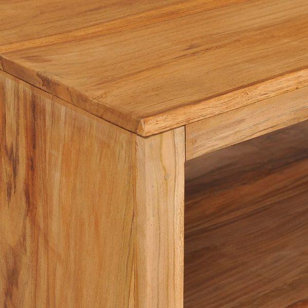 Couchtisch 110×60×40 cm Teak Massivholz