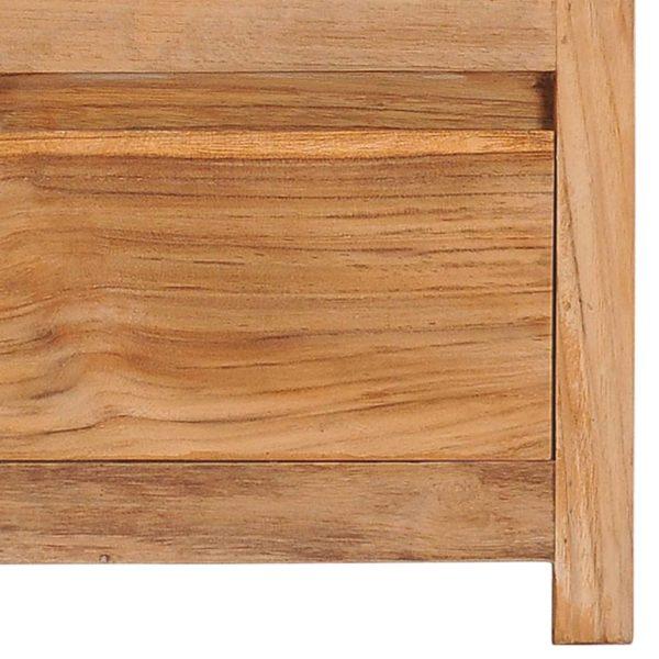 TV-Schrank 100×30×35 cm Massivholz Teak