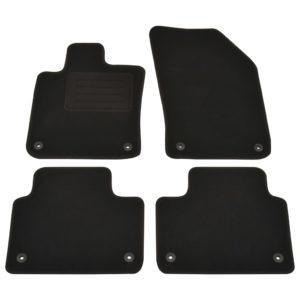4-tlg. Autofußmatten-Set für Volvo V60 II