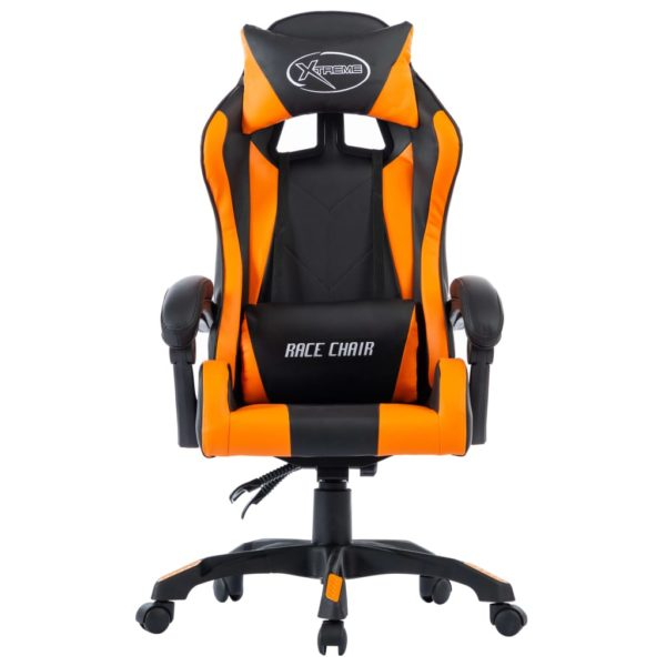 Gaming-Stuhl Orange Kunstleder
