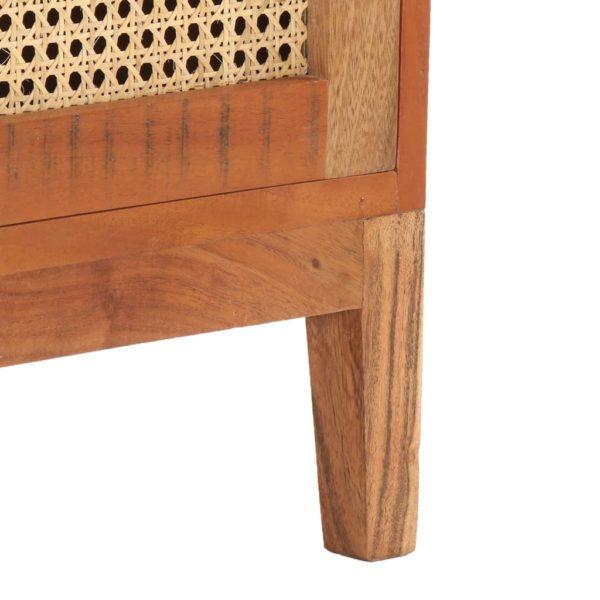 Couchtisch 100×50×40 cm Recyceltes Massivholz