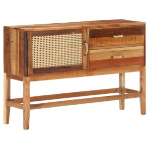 Sideboard 118×30×76 cm Recyceltes Massivholz