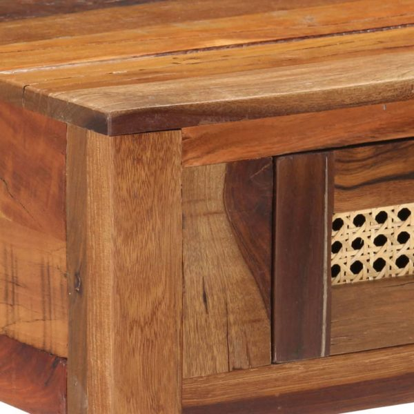 Konsolentisch 86×30×76 cm Recyceltes Massivholz