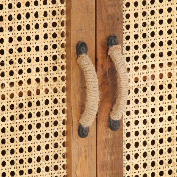 Sideboard 65×35×75 cm Recyceltes Massivholz