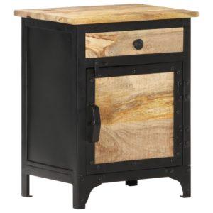 Nachttisch 40 x 30 x 50 cm Mango-Massivholz