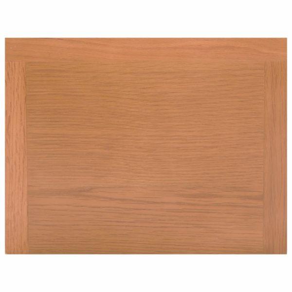Zeitungstisch mit Schublade 35x27x55 cm Massivholz Eiche
