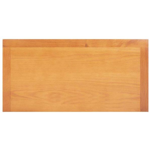 Küchenschrank 70×35×75 cm Massivholz Eiche und MDF